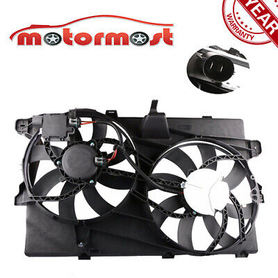 AM For Lincoln,Ford MKX,Edge Front Radiator Fan TOWING PACKAGE