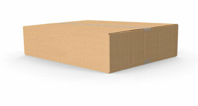 Small Cardboard Moving Packaging Cartons Boxes Qty 25 Flat Packed