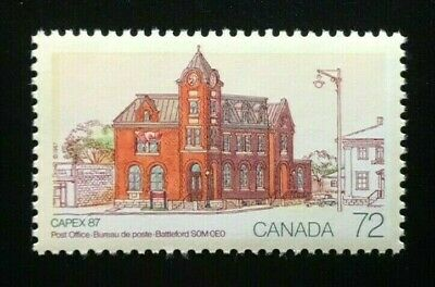 Canada #1125 MNH, CAPEX 87 - Battleford Post Office Stamp 1987