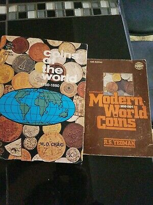 Collectibles books x's 2, modern world coins,  world coins , very valuable