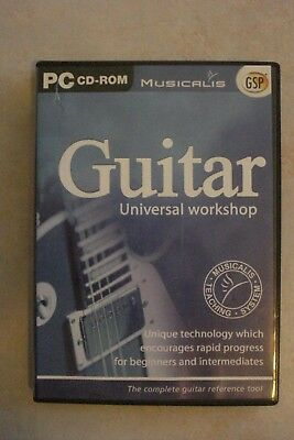 - Guitar Universal Workshop [Pc Cd-Rom] Beginners/Intermediate [As New]