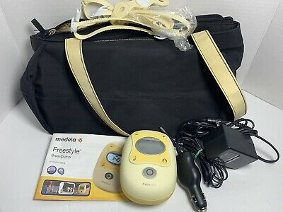 Medela-Freestyle Electric Breast Pump + Battery Tested & Working