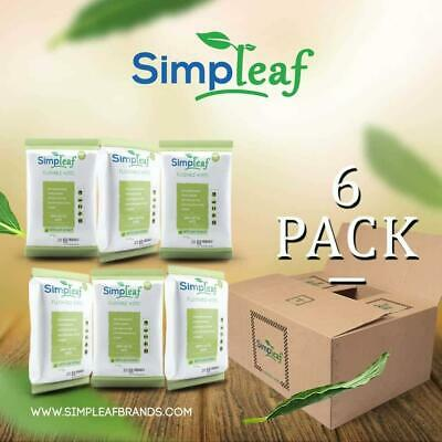 Simpleaf Flushable Wipes: Eco- Friendly, Thick and Effective, Paraben and...