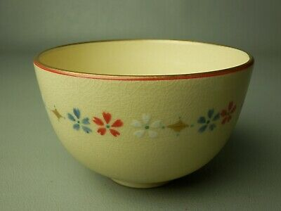 29Tc Japanese Vintage Signed Kyo Ceramic Chawan Bowl Tea Ceremony Free Shipping