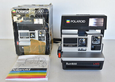 Polaroid Sun 600 LMS Instant Camera ~ Tested Working