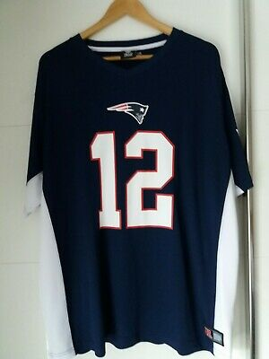 New England Patriots Tom Brady 12 Xxxl Jersey Worn Once