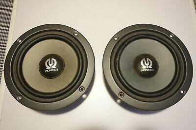 """Pair of 8"""" 8 Ohm Pioneer A18EC70-59F Speaker Drivers Woofers INDONESIA"""
