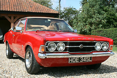 Ford Cortina MK3 GT Crayford Convertible Automatic. Very Rare car