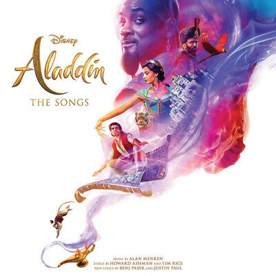 "Various Artists : Aladdin: The Songs VINYL 12"" Album (2019) ***NEW***"
