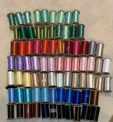 80 Eighty Spools Embroidery Thread