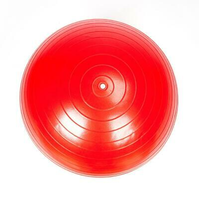 85cm Yoga Ball + Air Pump Anti Burst Gym Exercise Balance Workout Stability Red