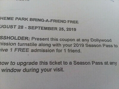 dollywood bring a friend ticket(2tickets)