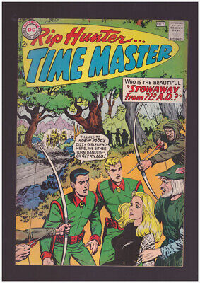 Rip Hunter Time Master # 22  Stowaway from ??? A.D. !  grade 7.0 scarce book !