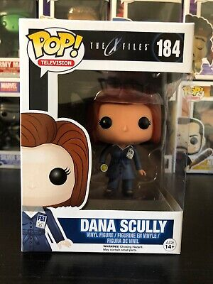 FUNKO POP! TELEVISION THE X-FILES DANA SCULLY #184 VINYL FIGURE VAULTED Retired