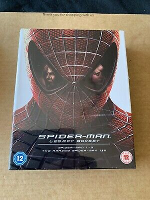 Spider-Man Legacy Boxset - Bluray Digibook Collection - NEW & SEALED 384/2000