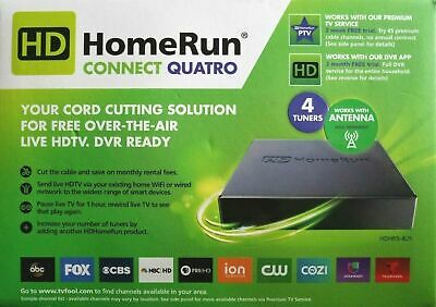 Silicondust HD HomeRun Connect Quatro 4 Tuners OTA