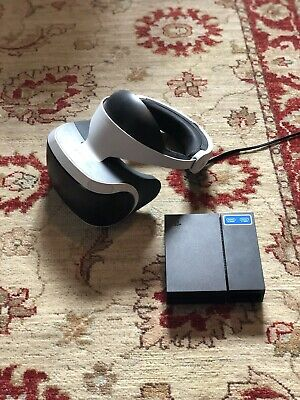 Sony PlayStation VR Brille + PsVr + Wie Neu + Kamera + Ps4 Vr Headset