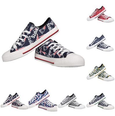 NFL Women's Low Top Repeat Canvas Shoes