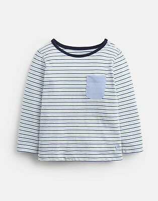 Joules Baby 204088 in Cream AND NAVY STRIPE Size 3min6m
