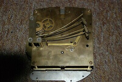 2 x Vintage mantle clock movement spares