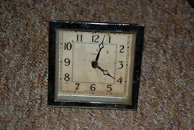 Vintage Art Deco Enfield Clock Movement Spares or repairs