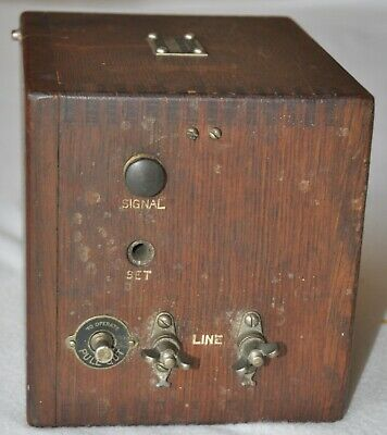 Vintage 1930's Western Electric Telephone 521-A Subscriber Set Box
