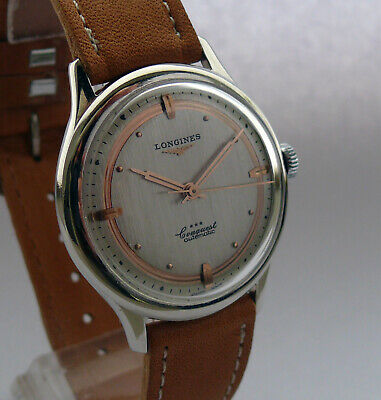 Vintage LONGINES CONQUEST Swiss Automatic Winding Mens Wristwatch