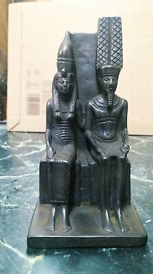 Statue of King Menkaure and his wife 2490–2472 B.C