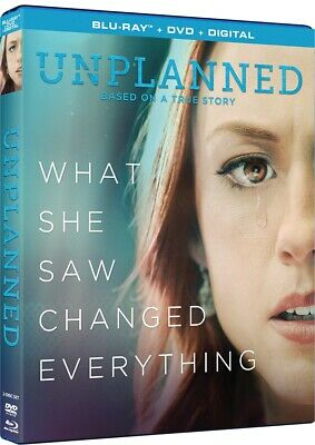 Unplanned Blue Ray * Dvd. What She Saw Changed Everything. Blue Ray*Dvd*Digital
