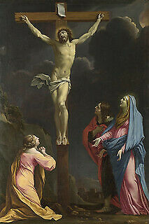 Photo:Christ on the Cross with the Virgin and Saints 7784