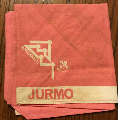 1975 World Jamboree Neckerchief JURMO Subcamp TC1
