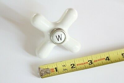 antique faucet porcelain cross handle | mott deco bath vtg victorian bathroom