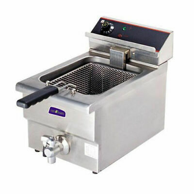 Benchtop Deep Fryer with Cold Zone Single Vat 10 Litre Commercial Quality