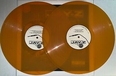 JAY Z, UNPLUGGED (w/ THE ROOTS) ORANGE COLORED VINYL, 2LP, NEW IMPORT