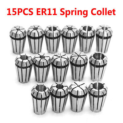 Holder Spring Collet Precision Steel Set Workholding CNC Lathe Tool Durable