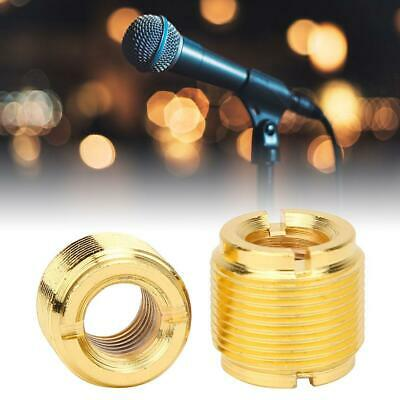5/8in Male to 3/8in Female Thread Screw Adapter Microphone Screw Stand Clip Part