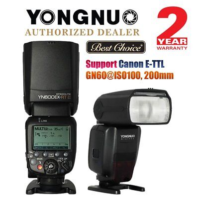 Yongnuo YN600EX-RT II TTL HSS Wireless Master Flash Speedlite Canon DSLR