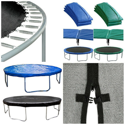Jumpking Premium 12Ft Trampoline Replacement Parts - Mat Net Pad Springs Cover