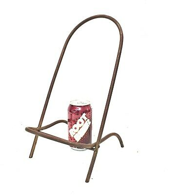 Antique Brass Large Plate Rack/Small Easel stand holder display late victorian