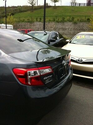 PAINTED 2012 2013 2014 Toyota Camry Factory Style Spoiler - Lip Spoiler