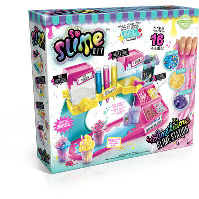 So Slime DIY Slimelicious Slime Station with Scented Slime