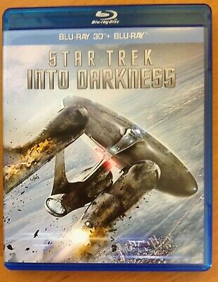 STAR TREK INTO DARKNESS - 3D (Blu-ray) 2-Disc. Plays in 2D also