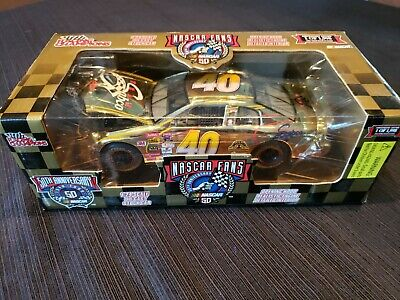Racing Champions NasCar Gold 1:24 scale Sterling Marlin # 40 Team Sabco 50th