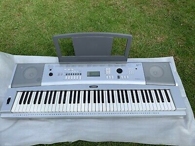 Yamaha DGX-220 Portable Grand Piano Keyboard  76 Keys Full Size Touch Sensitive
