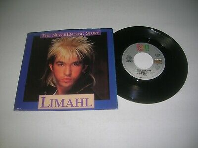 Disco 45 & Picture Sleeve  -  Limahl  -  Never Ending Story   -  1985
