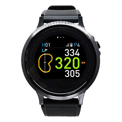 GolfBuddy WTX+ GPS Smart Golf GPS Rangefinder Watch, Black