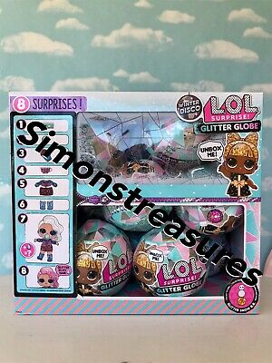 LOL Surprise Doll Winter Disco Glitter Globe CASE 12(IN HAND!!) SHIPS SAME DAY!!