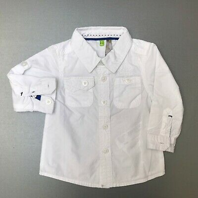 Chemise blanche Orchestra - Taille 6 mois (KF)