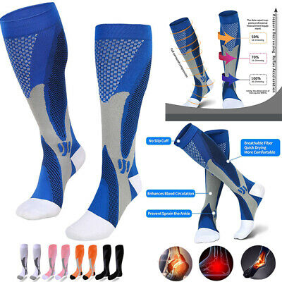10-25 mmHG Medical Flight Stocking Compression Travel Sock Varicose Anti Fatigue