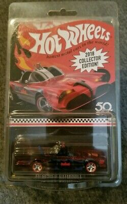 Hot Wheels 2018 Mail In TV Series Batmobile Collector Edition RLC Redline RR's